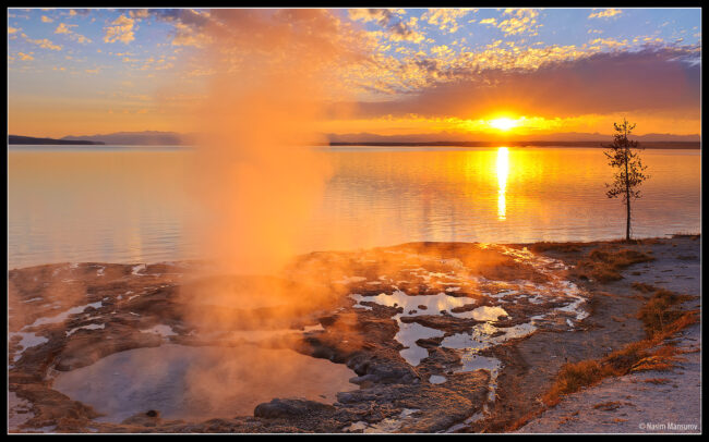 wallpaper yellowstone. Yellowstone Lake Wallpaper