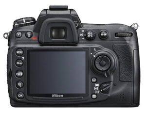 Nikon D300s Back