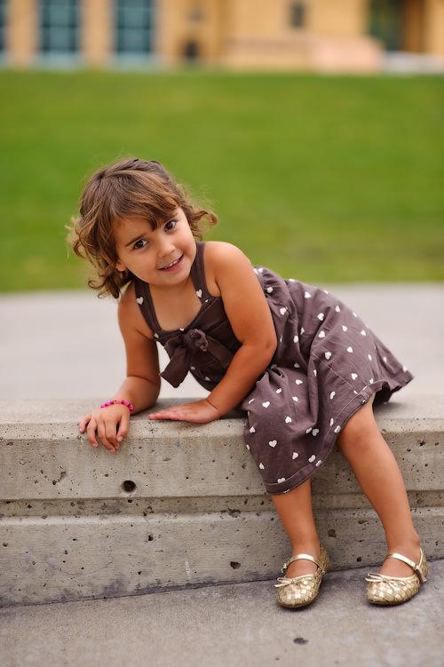 Malika Posing