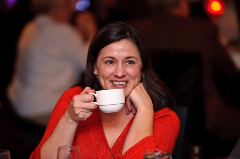 Corporate Photography - Drinking Coffee