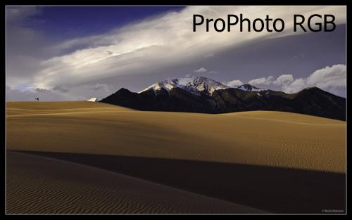 Sand Dunes - ProPhoto RGB