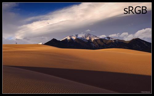 Sand Dunes - sRGB