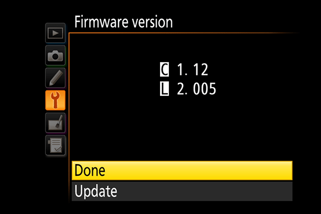 how do i update my nikon d5000 firmware