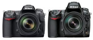 Nikon D700 vs D300s