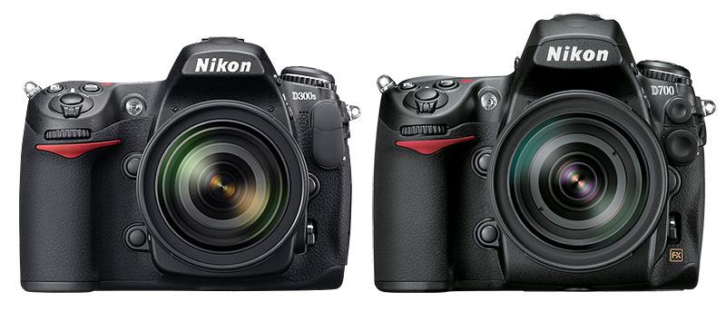 Nikon D300s vs D700