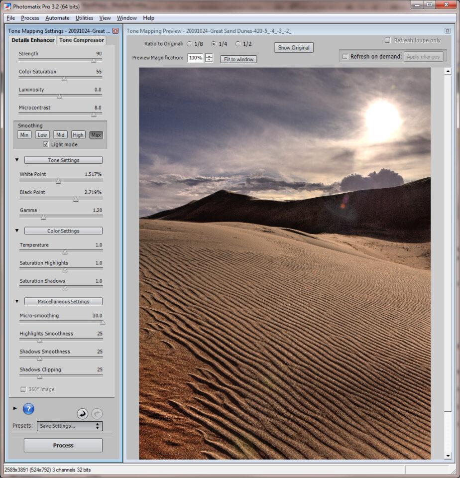 Sand Dunes HDR #2