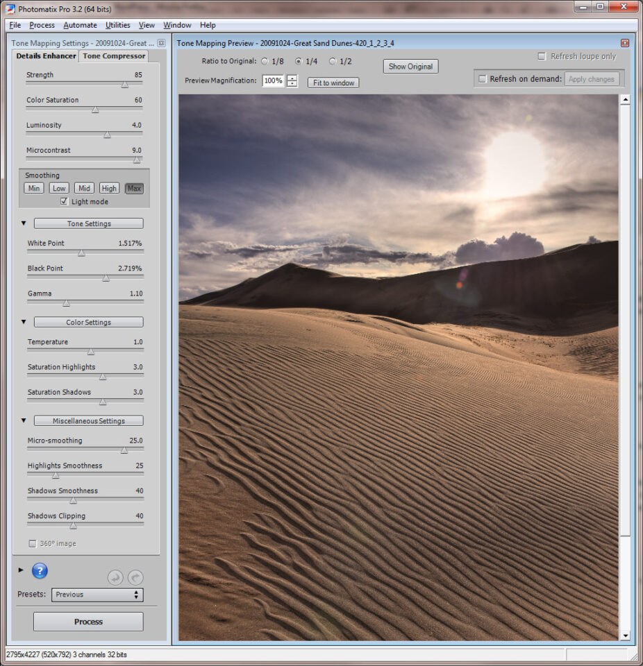 Sand Dunes HDR #3