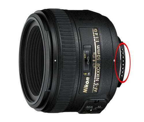 Nikon 50mm f/1.4G contacts