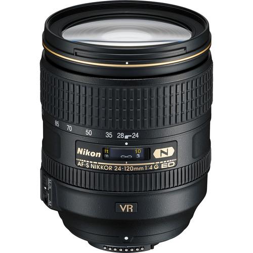 Nikon 24-120mm f/4.0G ED VR