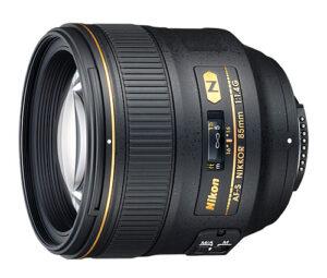 Nikon 85mm f/1.4G