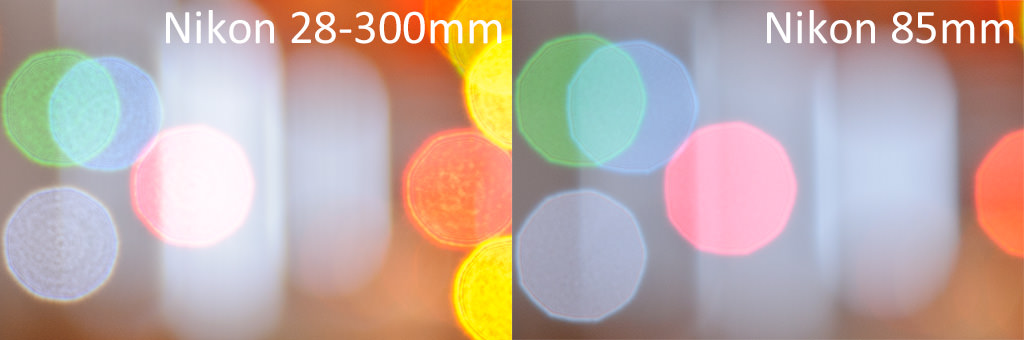 Nikon 28-300mm vs Nikon 85mm Bokeh