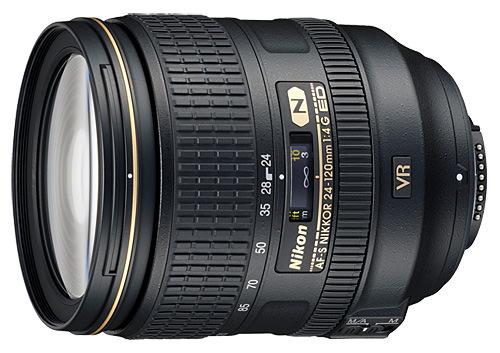 Nikon 24-120mm f/4 ED VR