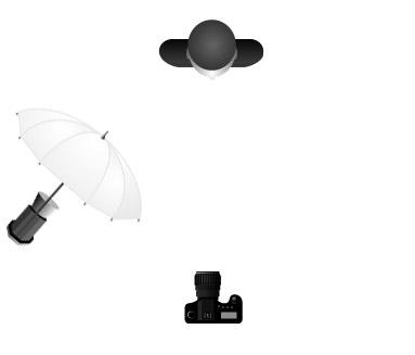 Classic Umbrella Setup