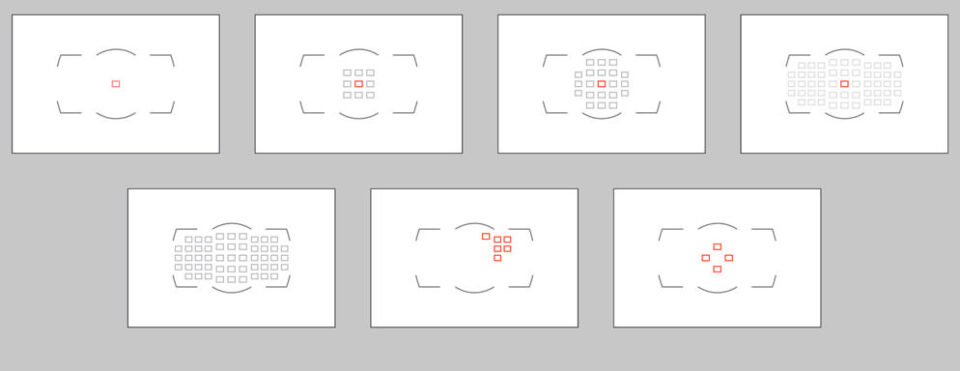 Nikon Autofocus Area Modes