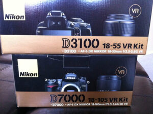 Nikon D7000 and D3100 for Testing