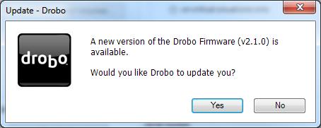 Drobo New Firmware