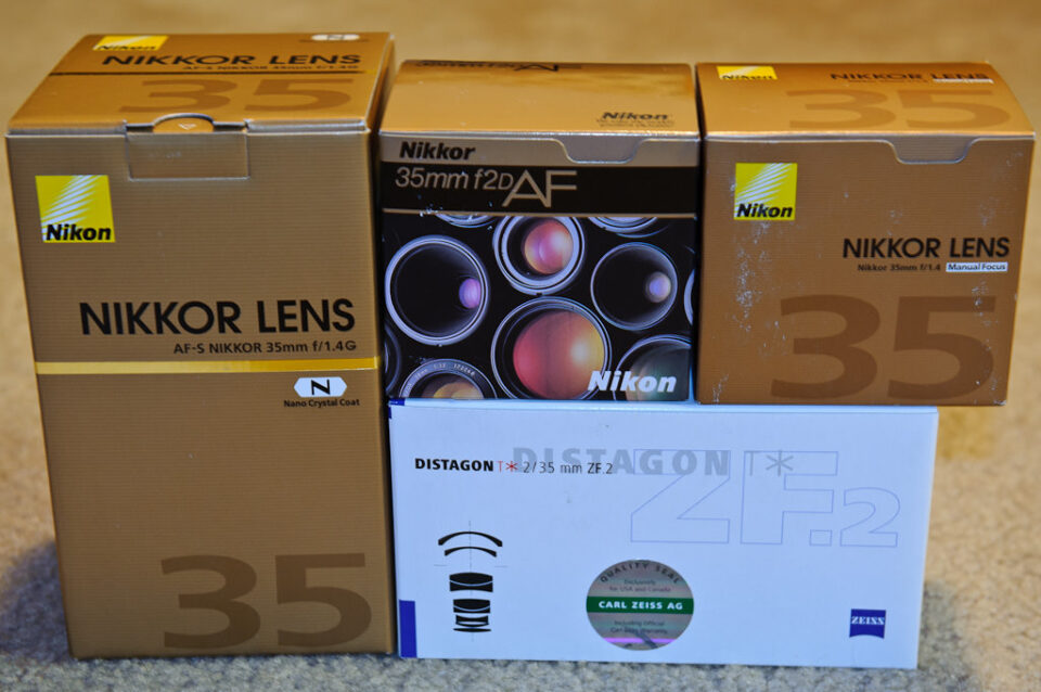 Nikon 35mm Testing