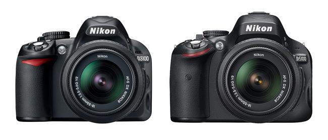 Nikon D3100 vs Nikon D5100