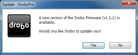 DroboPro - New Firmware