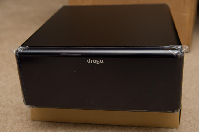 DroboPro Out of Package
