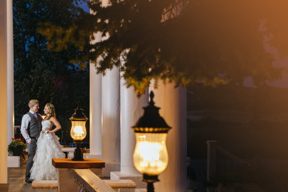 This wedding photo was captured with the Nikon Df. Although the Df is a bit outdated, it still has an excellent camera sensor for low-light photography like this.