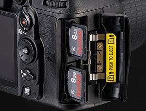 Nikon D7000 Dual Slots