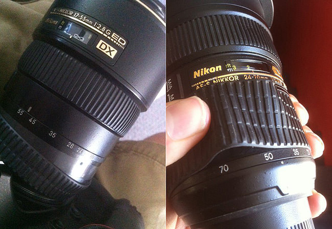 Nikon Lens Ring Defects