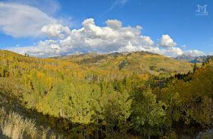 McClure Pass in Fall