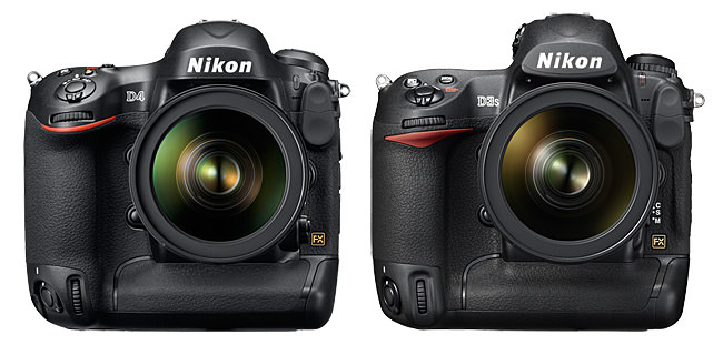 Nikon D4 vs D3s