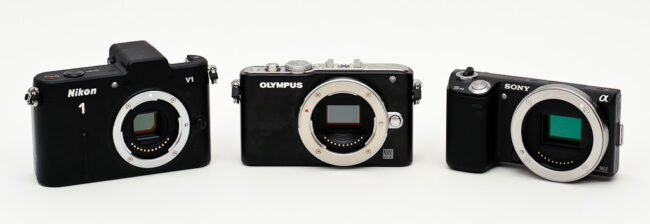 Nikon 1 V1 vs Olympus E-PL3 vs Sony NEX-5N