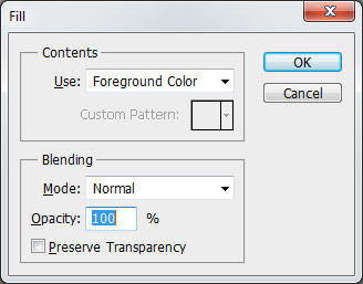 Remove Moire 3 - Fill Layer