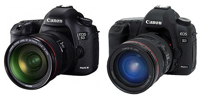 Canon 5D Mark III vs Canon 5D Mark II
