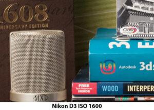 Nikon D3 ISO 1600