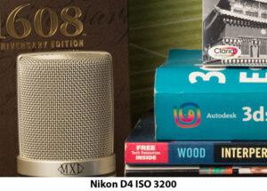 Nikon D4 ISO 3200