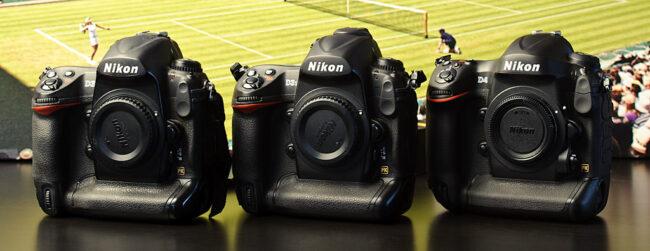 Nikon D4 vs D3s vs D3
