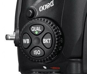 Nikon D800 Camera Dial