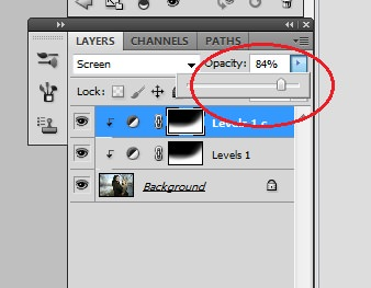 10. Change the opacity as needed