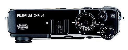 Fuji X-Pro1 Top