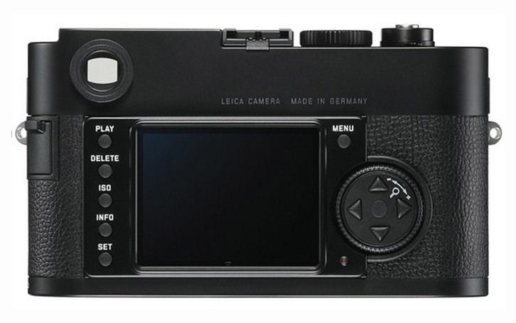 Leica M-Monochrom Back View