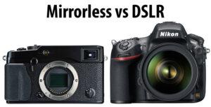 DSLR vs Mirrorless – Part Two