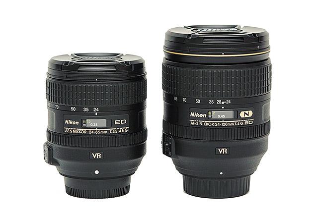 Nikon 24-85mm vs Nikon 24-120mm