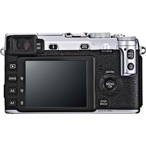 Fujifilm X-E1 - Rear