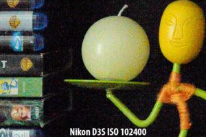 Nikon D3S ISO 102400