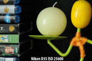 Nikon D3S ISO 25600