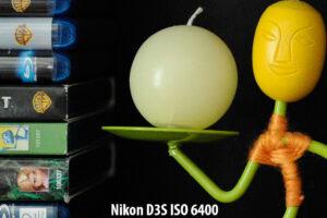 Nikon D3S ISO 6400