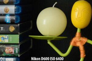 Nikon D600 ISO 6400