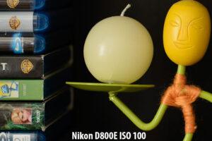 Nikon D800E ISO 100