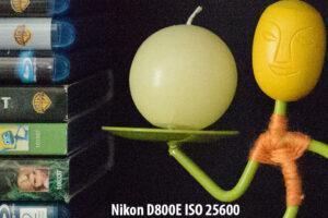 Nikon D800E ISO 25600