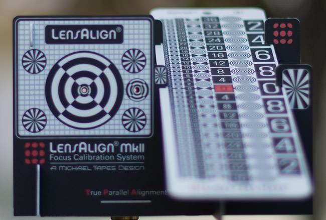 LensAlign - Backfocus