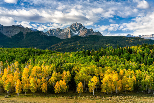San Juan Mountains at Fall